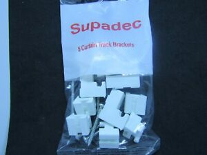 SupaDec Curtain Track Brackets  ( packet of 5 )  SPDCTB
