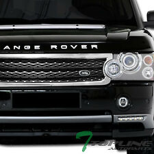 CHROME/BLK HONEYCOMB MESH FRONT HOOD BUMPER GRILL GRILLE GUARD 2006+ RANGE ROVER