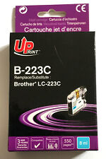 DESTOCKAGE UPRINT @ CARTOUCHE COMPATIBLE BROTHER DCP, MFC LC223 CYAN / LC-223C