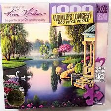 "Kim Norlien ""Secret Garden"" Jigsaw Puzzle #70402 Worlds Longest 1000 Piece"