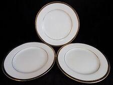 Delta Airlines small salad plates model 0442-03864 gold rimmed white porcelain