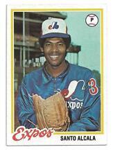 1978 Topps #321 Santo Alcala Montreal Expos