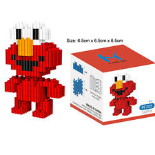 LOZ Cartoon Sesame Street Red Elmo Minifigure Mini DIY Building Nano Blocks Toy