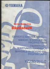 download now yamaha yz250 yz 250 2003 03 2 stroke service repair workshop manual