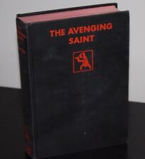 Leslie Charteris  THE AVENGING SAINT First Edition 1931 Crime Club Country Life