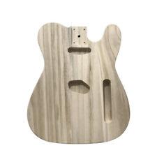 Polished Wood Electric Guitar Barrel DIY Maple Guitar Barrel Body For TL J5R0