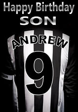 GRIMSBY TOWN FOOTBALL FAN Personalised Birthday Card! any NAME/NUMBER/RELATION!
