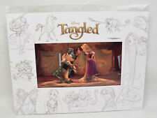Limited Edition Disney Tangled Lithograph of Rapunzel & Flynn Rider Matted COA #