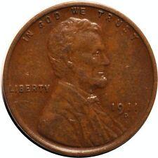 1911-D/D Lincoln Cent - CONECA RPM-005 - XF #770