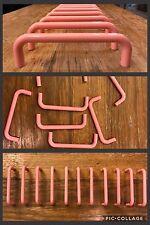 11 Pulls Handles Pink Plastic Drawer Cabinet RETRO Door Vintage ART DECO