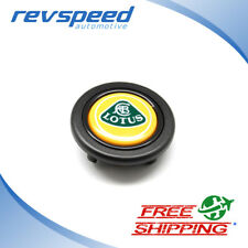 Lotus logo emblem Steering Wheel Horn Button for MOMO OMP Sparco Raid 58mm