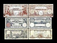 Brésil -  2x  10, 20, 500 Mil Reis - Edition 06.12.1906 - Reproduction - 27