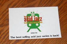 This is Acid Jazz Livin' in the Land of Hi-Fi Postcard Promo 6x4