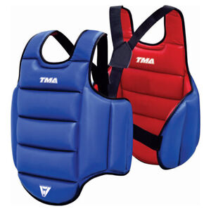 TMA Boxing Protector Chest Guard MMA Body Armour Training Kickboxing Sports