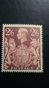 GB King George VI 1939 Unmounted Mint Brown 2s 6d SG 476 Wmk.133