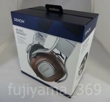 New DENON AH-MM400 MUSIC MANIAC Over ear headphones Hi-Res Express mail JAPAN