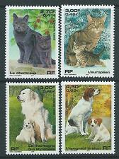 FRANCE 1999 animaux domestiques SG 3619-22 SET4 neuf sans charnière.
