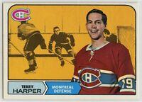 1968-69 Topps #57 Terry Harper EX-NM - SET BREAK (112219-21)