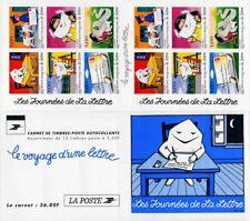 Bande Carnet BC3071A / BC9 - Le voyage d'une lettre - 1997