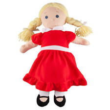 Big Sister Doll with Birthstone Color Dress, January, Red, Small