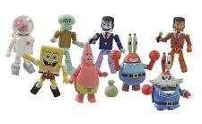 Diamond Select Toys SpongeBob Squarepants Minimates Ser 1 SEALED CASE #soct17-50