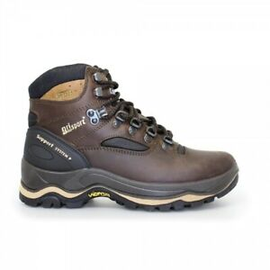 Grisport QUATRO Mens Smooth Leather Outdoor Hiking & Trekking Boots Brown