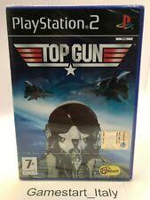 TOP GUN - SONY PS2 - GIOCO NUOVO SIGILLATO - NEW SEALED PAL VERSION