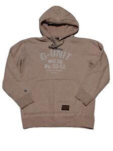 G-Unit Heavy Weight Hoodie 50 Cent Gorilla Unit Pullover Mens L