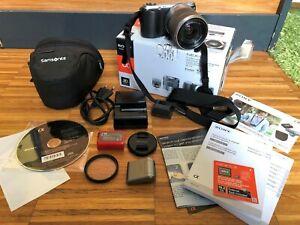 Sony Alpha NEX-C3 16.2MP Digitalkamera  (Kit mit 18-55mm Objektiv)