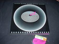 QUEEN JAZZ LP Hype sticker and POSTER NM Elektra 6E-166 original sleeve 1976