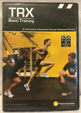 NEW TRX Basic Training workout DVD + Guide Suspension Training body weight