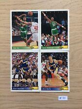 NBA UPPER DECK #95 Base Equipes Diverses Multi Equipes 1992 1993