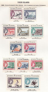 Virgin Islands. 1962. SG 162-173, 1c to $2.80. Fine mounted mint.