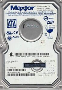 "Maxtor DiamondMax 10 250GB,Internal,7200 RPM,8.89 cm (3.5"") (6B250S0) Desktop HD"