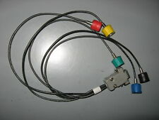*0,5m* RGBHV 15 pin SVGA video cable HV sync signals BNC Sony DXC series CCXC
