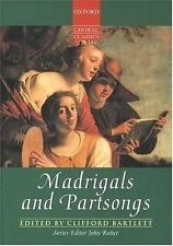 MADRIGALS AND PARTSONGS - NEW PRE-LOADED AUDIO PLAYER BOOK