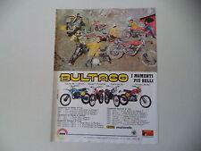 advertising Pubblicità 1978 BULTACO PURSANG/SHERPA T TRIAL/ALPINA/FRONTERA