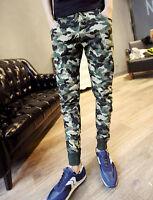 Men's Harem Pants Slacks Sweatpants Jogger Dance Casual Sportwear Camo Trousers#