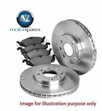 FOR HONDA EDIX 2.0i 2.4i 2005--> NEW REAR BRAKE DISCS SET AND DISC PADS KIT