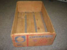 Vintage Grapes Quality Chile Products Fruit Wood Box