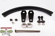 "Custom 2"" Gas Tank Lift Kit-Coffin Design-Fits HD Low Rider, Super Glide 2010-up"