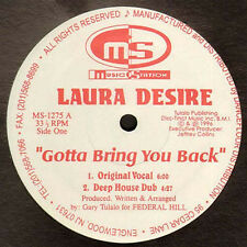 LAURA DESIRE - Gout Bring You Back - 1996 Music Station Usa - MS-1275