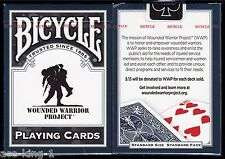 1 deck Bicycle WOUNDED WARRIOR PROJECT playing cards