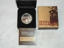 2009 $1 BALAKLAVA Famous Battles in History Silver Proof Coin