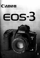 Canon Eos 3 manuale in pdf su cd