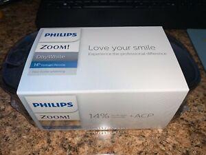 Philips Zoom DayWhite 14% Teeth Whitening Gel 6 Syringe Case Pack EVA EXP 11/21