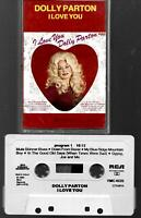 Dolly Parton – I Love You, 1982, Cassette, RCA International, Import, Holland
