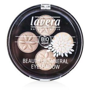 Lavera Beautiful Mineral Eyeshadow Quattro - #02 Cappuccino Cream 0.8g Eye Color