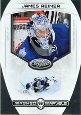 11/12 PANINI CERTIFIED MASKED MARVELS #9 JAMES REIMER MAPLE LEAFS *43209