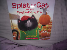 BRAND NEW Paperback Picture Book Splat The Cat and The Pumpkin Picking Plan